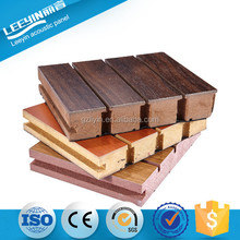Fireproof Wooden Grooved Acoustic Board Wall Panel
