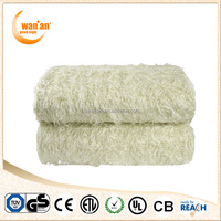 King Size 100% Polyester add Wool Electric Cool Blanket With SAA plug