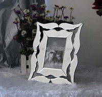 HWM80072 venetian style mirrored photo frame for home decorative