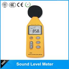 promotional handheld 40db-130db multifunctional digital sound noise level meter