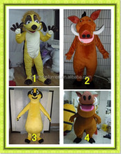 new design mascot costume timon & pumba costume for adult