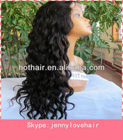 AAAAA top quality Virgin Brazilian Hair full lace wig,accept paypal