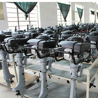 2015 high technology air-cooled outboard marine engine low price