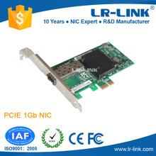 Lrec6220pf-sfp Intel 82575EB Chipset PCIe x1 Gigabit 1000base - fx SFP Fiber optique carte réseau