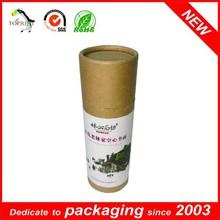 New Design Roll Edge Kraft Paper Tube for Essential Oil