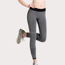 OEM B.BANG 2015 New Women Sport Tights Pants For Running Fitness Gym Clothes Quick Drying Trousers Elastic Capris ropa deportiva