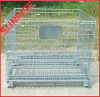 Evergreat wire cage with wooden pallet