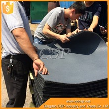 elastic non-toxic Recycled granules gym rubber flooring, outdoor basketball court rubber floor tile