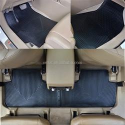 Used for Toyota highlander 2014 rubber car mat/ car floor mat