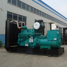 Hot sales generator set 380 volt 50Hz 8-1200kw with bottom price