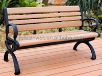 wpc cheap plastic bench wood carving bench plastic indoor bench