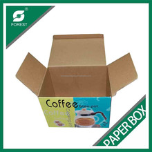 Hot sell chinese manufacturing coffee packaging box