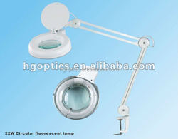 """5"""" T9 22w table stand magnifying lamp"""