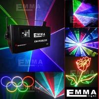 stage lighting IDLA laser light 1.2w laser show RGB free animations free show