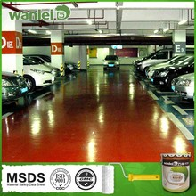 Durable, high hardness, washable garage floor coating