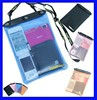 Factory Direct Sale Cheap Clear PVC Waterproof Dry Pouch ,Waterproof Wallet Bag, PVC Waterproof Bag For Document