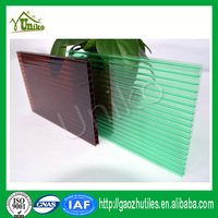 100% Markrolon uv-protection awnings and canopies anti-drop fire proof anti-fog polycarbonate sheet line