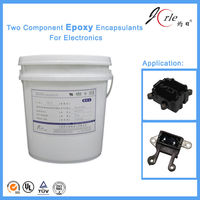 Two components epoxy sealant for electronic