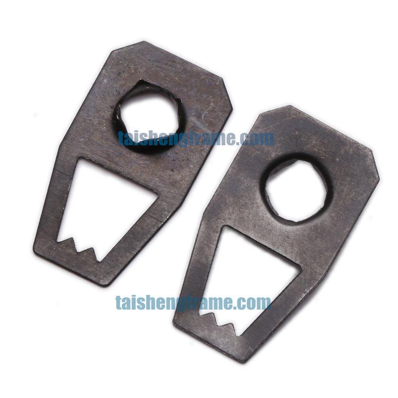 Pozzi 6 Hole Hanging Plate Loose Ts K093 2737mm Self Fix Hardware