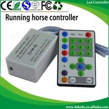 IR Remote 25 Key Chasing Running Strip RGB LED Controller