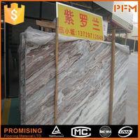 China factory price natural stone light emperador column round columns