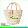 LUDA Fashion Natural Handbags Cornhusk Straw Shoulder Bag