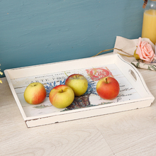 New exquisitely design paulownia wooden tray, pine wooden fruit tray, storage tray