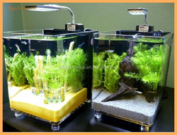 Clear square large acrylic aquarium,lucite acrylic fish tank