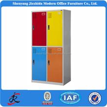 2015 china bedroom furniture cabinet locker style colorful metal steel cloth 3 door wardrobe prices metal wardrobe cabinet