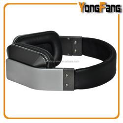 Original designed foldable metal headband strong bass dj music headphone with mic