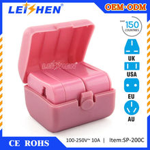 2015 hot selling travel plug adapter walmart for hotel gifts