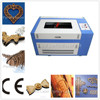 2015 hot selling wood arcylic leather paper mini laser paper cutting machine 600*400mm