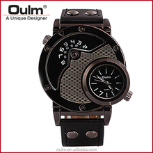 factory direct price watches, dual times wrist watch, wholesale cheap watch