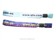 Single cheap custom festival action indicato fascinating wristband for Spring Festival Decoration