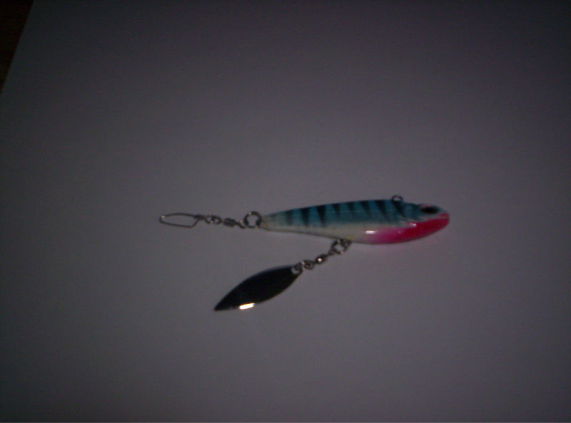 Super inline trolling weights made with spinner blade for Inline fishing weights
