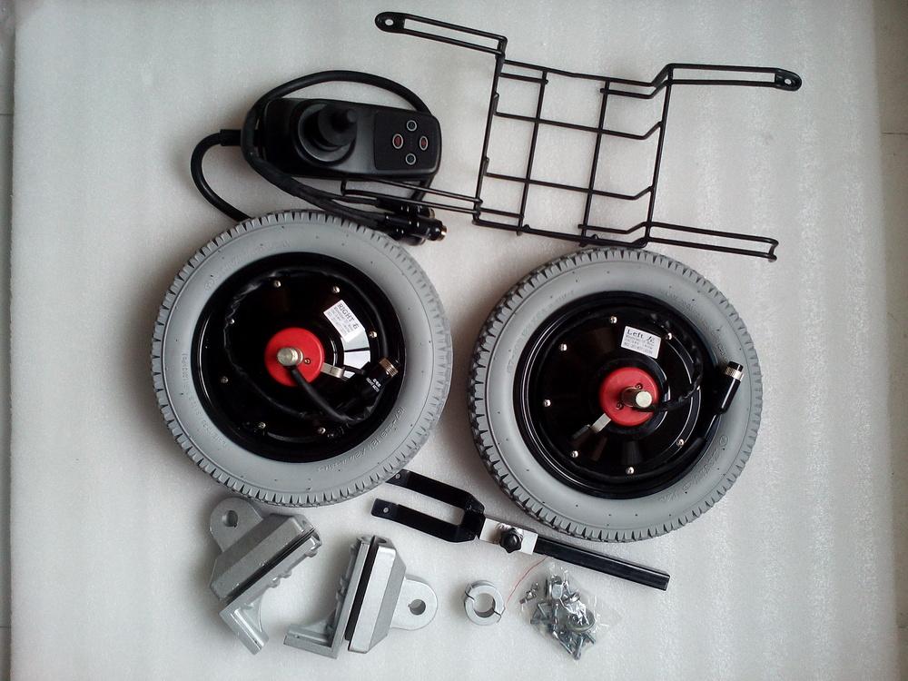 2014 NEWEST 12'' wheelchair hub motor kit 24v 180w