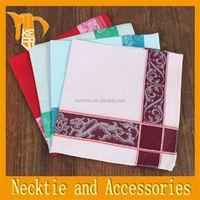 Fashion business italian silk fabric silk hanky