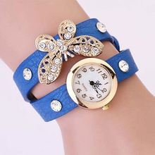 stone butterfly stainless steel automatic sports watch your own logo watch leather watch SY-lea