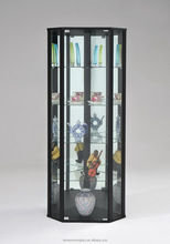 Glass display cabinet cheap new model living room furniture set