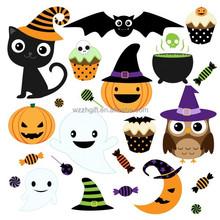Children toys halloween pvc sticker