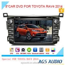 """8""""special touch screen for toyota RAV4 2014 Car radio with DVD Player GPS navigation bluetooth RDS SD"""