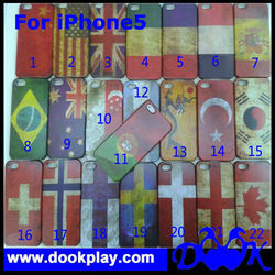 The Union Flag Design Cover For iPhone 5 5G