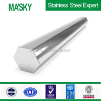 300 series Cold drawn stainless steel hexagonal bar