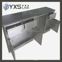 modern stainless steel lab equipment central bench