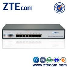 8 port gigabit 10/100/1000M power over ethernet poe+ high power POE switch
