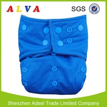 ALVA Good Sunny Baby Colorful Double Row Snaps resuable Baby Cloth Diaper SIZECB06