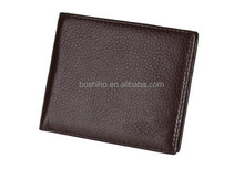 Men's leisure business thin students leather wallet