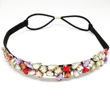 High quality hande made hair accessories for women/colorful sede bead headband