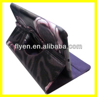 Pen+360 Degree Rotating PU Leather Case Cover Swivel Stand For iPad Mini