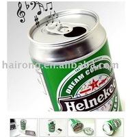 Hairog creative portable mini cola speaker for phone laptop ipod
